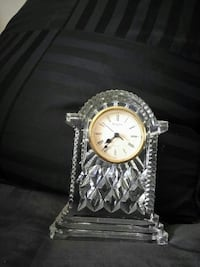 Crystal waterFord clock
