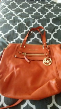 women's brown Michael Kors leather tote bag Birmingham, 35242
