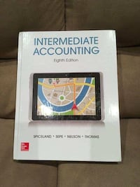 Intermediate accounting by Nelson Spiceland an SEPE 2016 hardcover eighth edition Coopersburg, 18036