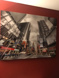 Large New York City Canvas Picture  Châteauguay, J6J