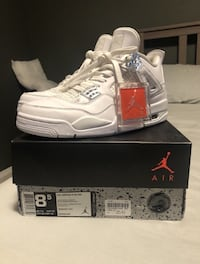 Air Jordan 4 Pure Money shoes with box