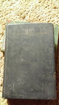 1940 Bluejackets Manual Olympia, 98513