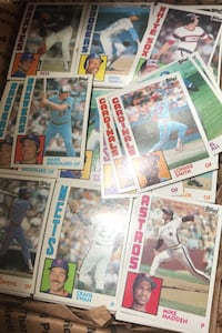 Mint 1984 topps baseball cards 300 count all different starter set $5!