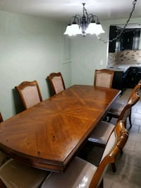 Formal dining room table