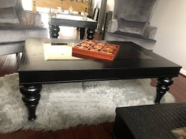 Coffe Table + 2 End Tables