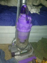 purple and gray Dyson upright vacuum cleaner Bentonville, 72712