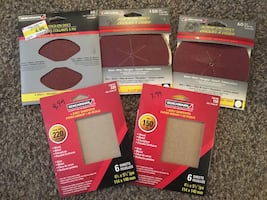 Sanding discs and supplies