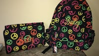 Brand new personalized backpack and makeup tote. Name on both is Bailey Georgetown, 40324