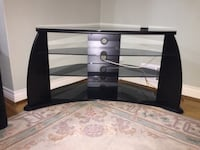 Entertainment Console with Glass Mississauga
