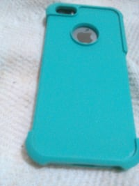 teal and black iPhone case Tunnel Hill, 30755