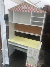 Fun kinds desks and bookcase hutch  Derwood