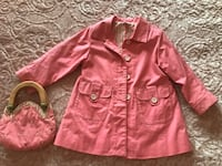 Baby Girl Coat and purse