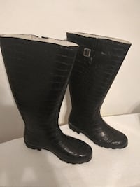 Rain Boots  - Wide Calf - Insolated