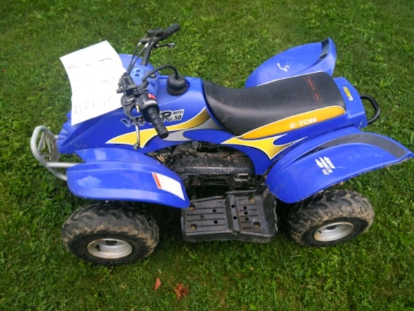 Used Honda Four Wheelers For Sale >> Used 50cc Eton Kids Four Wheeler For Sale In Nazareth Letgo