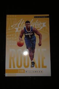 Zion Williamson Card