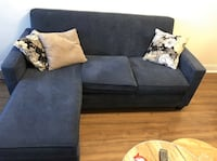 FREE DELIVERY TODAY!: BEAUTIFUL BLUE SECTIONAL COUCH - EXCELLENT COND Markham, L3R 9W3