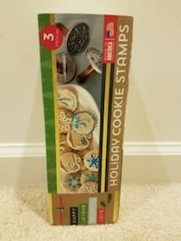 New Nordic ware holiday cookie stamps - $10 firm Rockville