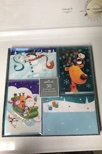 Brand new in box hallmark Christmas greeting cards (30) Edmonton, T6L 6X6