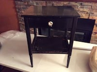 Black Side Table/Night Stand Ottawa, K4P 0C3