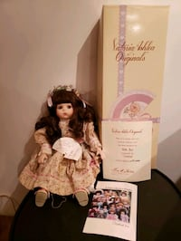 Susie musical porcelain doll
