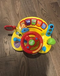 Toy Kids Vtech Toy Car steering wheel