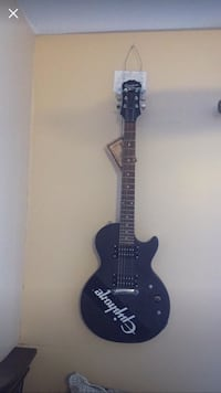 Brand new epiphone les Paul version electric guitar with custom black chrome!! New York, 11428