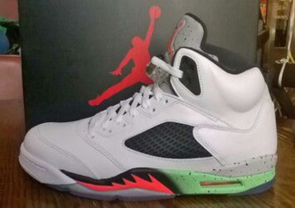 accad122aaa Used nib jordan retro 5 space jam pro stars for sale in Panama City ...