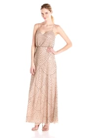 Adrianna Papell Beaded Gown.  Toronto, M4V 2T3