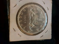 1966 Canadian silver dollar Mississauga, L5N 2P3