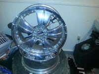 grey automotive rims