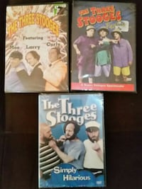 (3) Three Stooges DVDs Somerset County, 08844