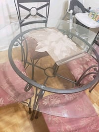 Dinning Table Set with 4 chairs just like new Toronto, M9R 1S3