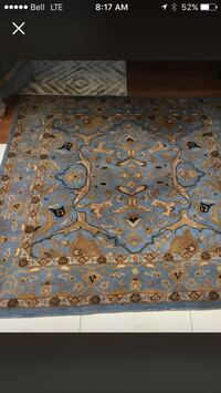 All natural wool rug 779 km