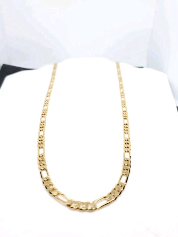 14k Gold Filled Figaro Link Chain