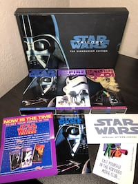 Star Wars Trilogy THX Widescreen Edition VHS Tape collectibles! El Paso, 79915