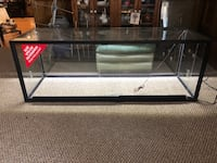 2 Lighted display cases