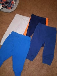 blue, white, and red pants Newark