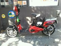 red and black motor scooter Brooklyn, 11238