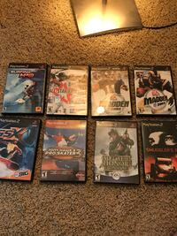 Assorted Sony PS2 game cases Mentor, 44060