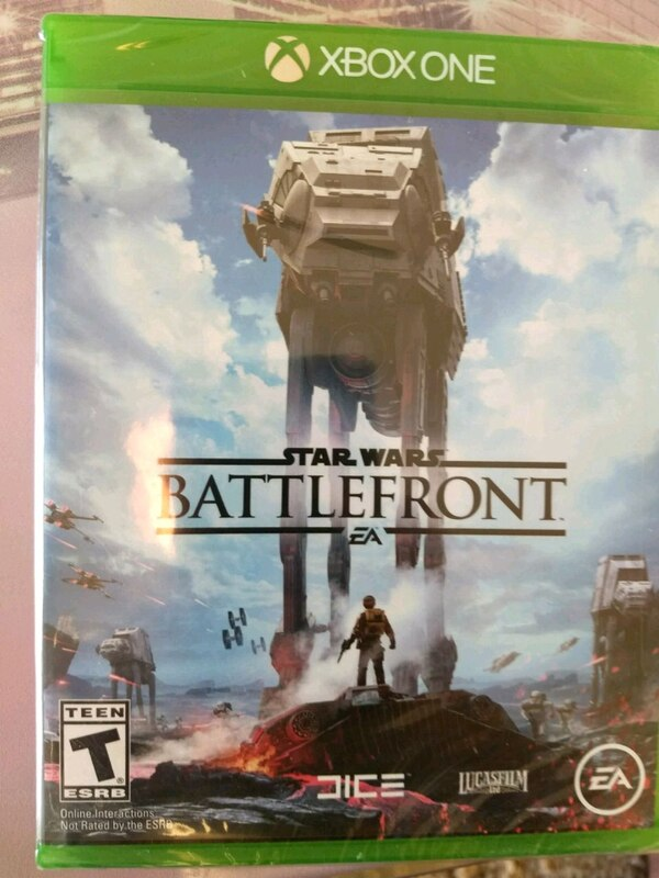 Unopened xbox One Star Wars Battlefront game 30d99e6e-b324-46ad-a028-0dce0702754d