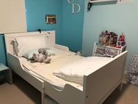 Kids extendable bed with mattress 522 km