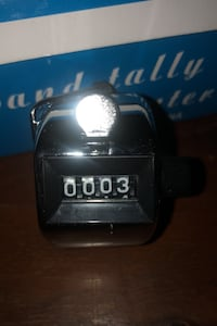 4 Digit Count Hand Tally Counter Toronto, M4M 2N7