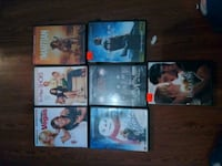 seven assorted DVD movie cases Thibodaux, 70301