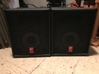 Fender Speakers. CASH ONLY, PICKUP ONLY. Chesapeake, 23322