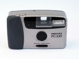 Pentax PC-330 35mm Point & Shoot Film Camera
