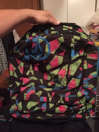Volcom Colorful Backpack Alhambra