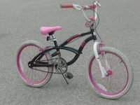 """GIRL'S OUTGROWN 20"""" HELLO KITTY BMX STYLE BIKE FOR 7 TO 9 YEARS!"""