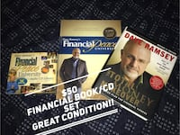 DAVE RAMSEY book/cd lot..... porchpickup near alliance town center heritage trace  Fort Worth, 76177