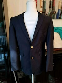 black notch lapel suit jacket Fairfax, 22032