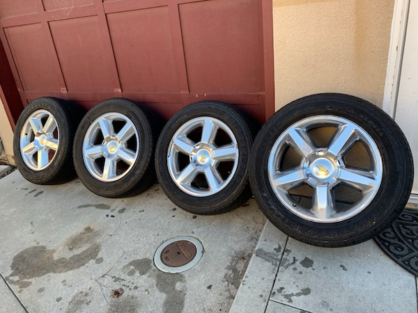 Chevrolet Suburban Tahoe Wheels Rims And Tires